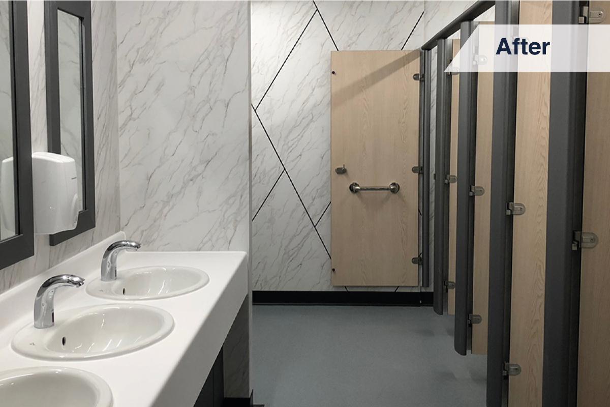 Hygienic Toilet Cubicle Upgrades: Waterproof Wrap