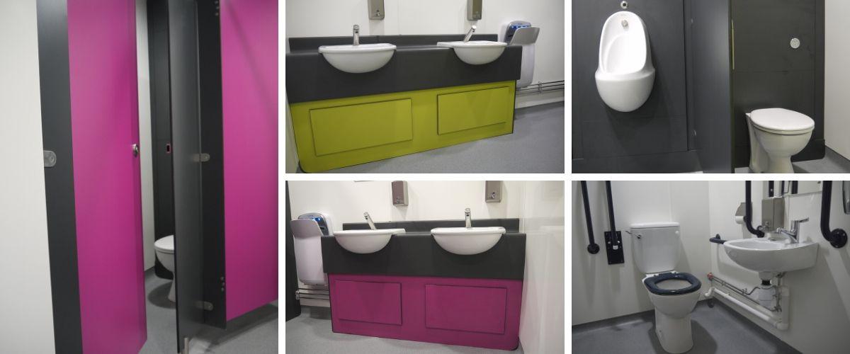 Community Centre Washroom Refurbishment for the Key Centre at Elvetham Heath - Case Study