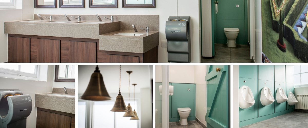 Washroom Specification and Design: National Trust Clivedon - Case Study