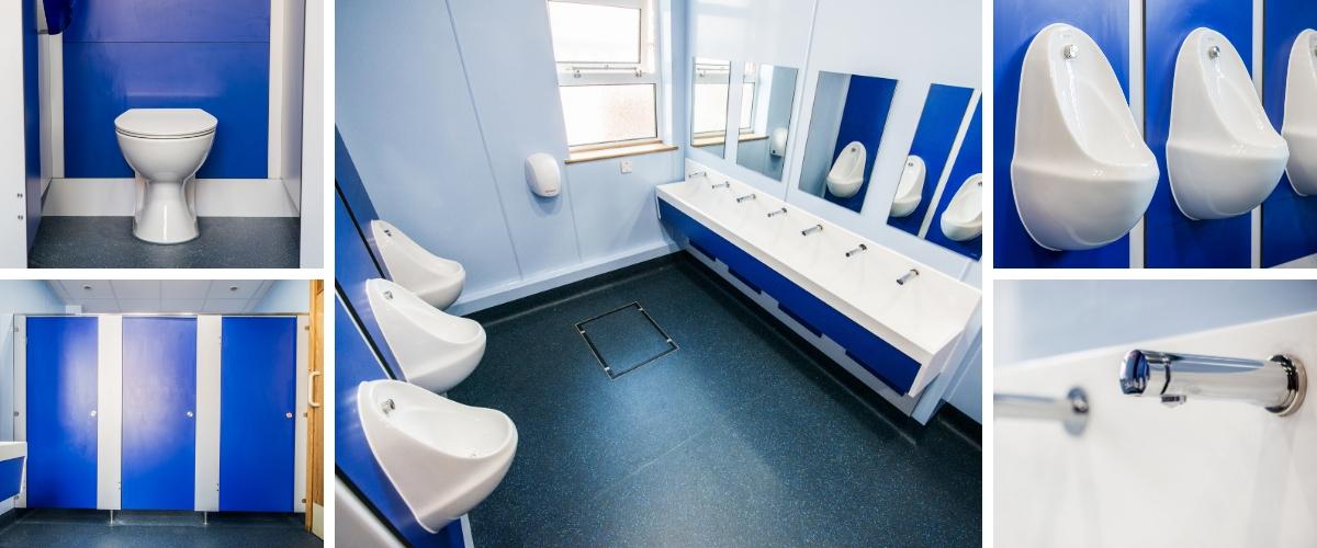 Gravesend Grammar School Toilet Refurbishment - Case Study