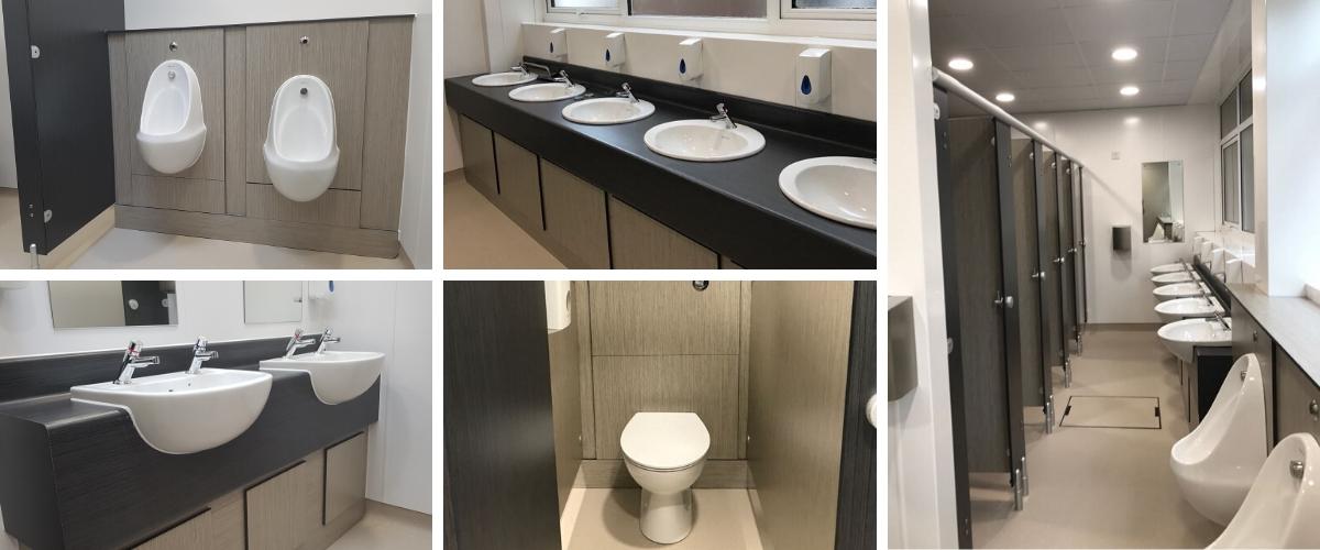Poole Grammar School Toilet Refurbishment - Case Study