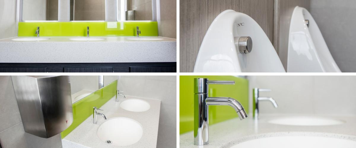 Executive Washroom Refurbishment: Viadex - Case Study