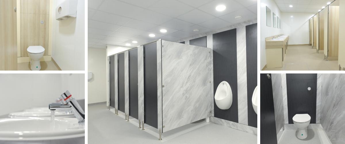 Henry Schein Washroom Refurbishment - Case Study