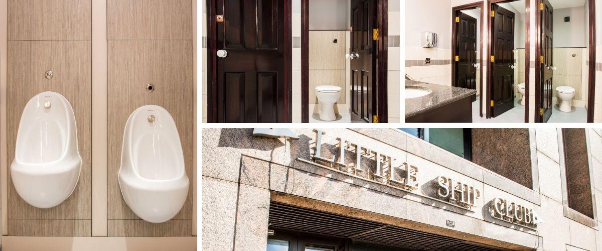 Male, Female & Disabled Toilets Refurbishment - Little Ship Club, London - Case Study
