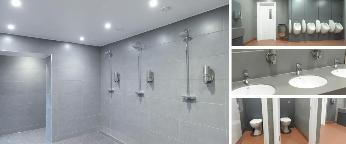 Crowborough Golf Club Men's Washroom Refurbishment - Case Study