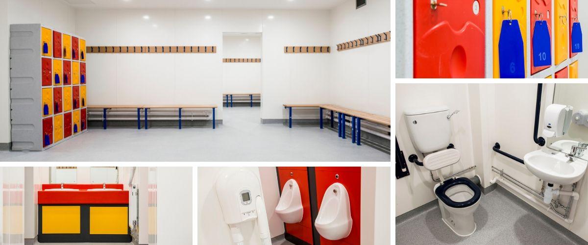 Portsmouth Grammar School Changing Room Refurbishment - Case Study