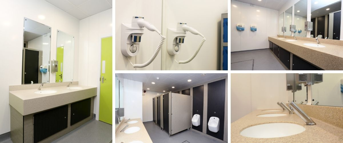 Office Toilet Refurbishment for South West Water - Case Study