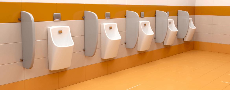 SGL Urinal Dividers: A Strike Against Covid