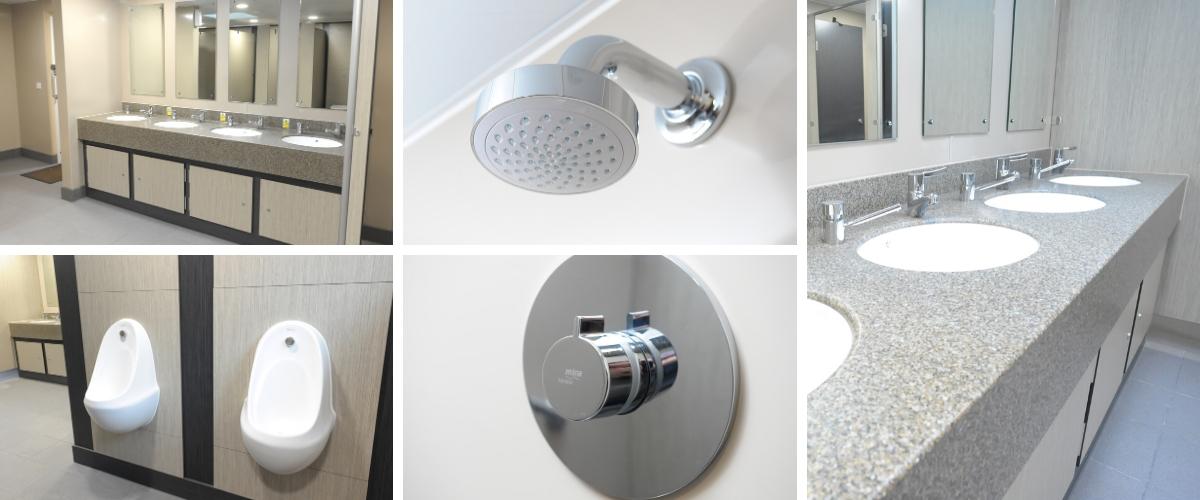 Seadown Holiday Park Washroom Refurbishment - Case study