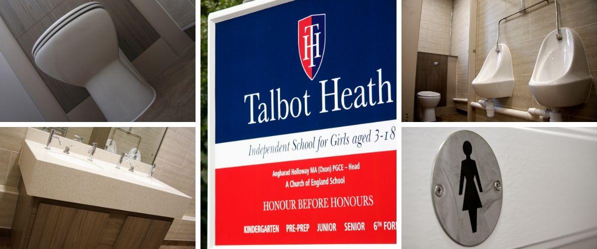 Talbot Heath School Toilets Commercial Washroom - Case Study