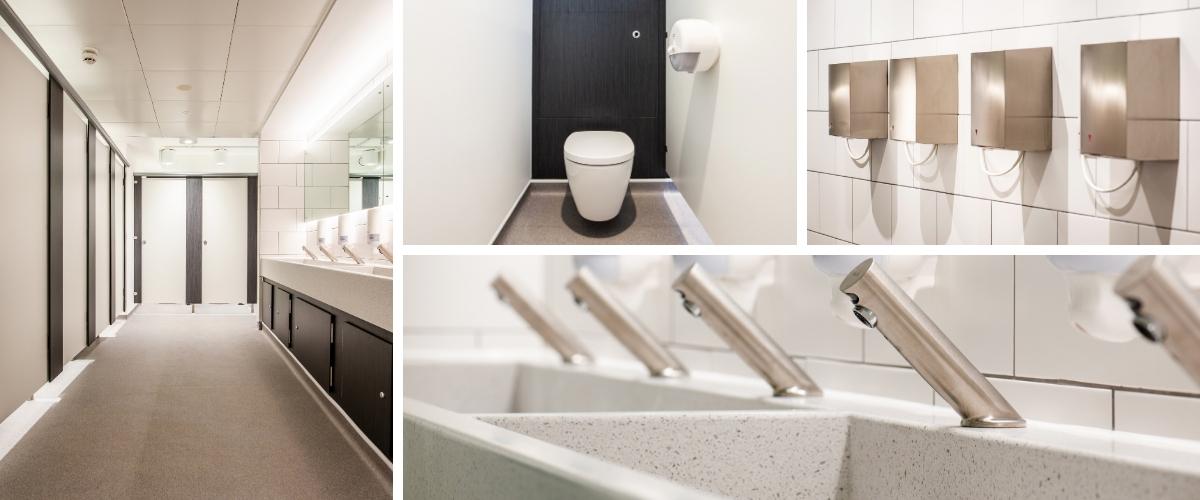 Oxford University Museum of Natural History Toilet Refurbishment - Case Study