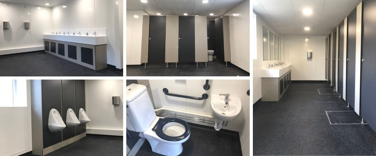 King Arthur's School Toilet Refurbishment - Case Study