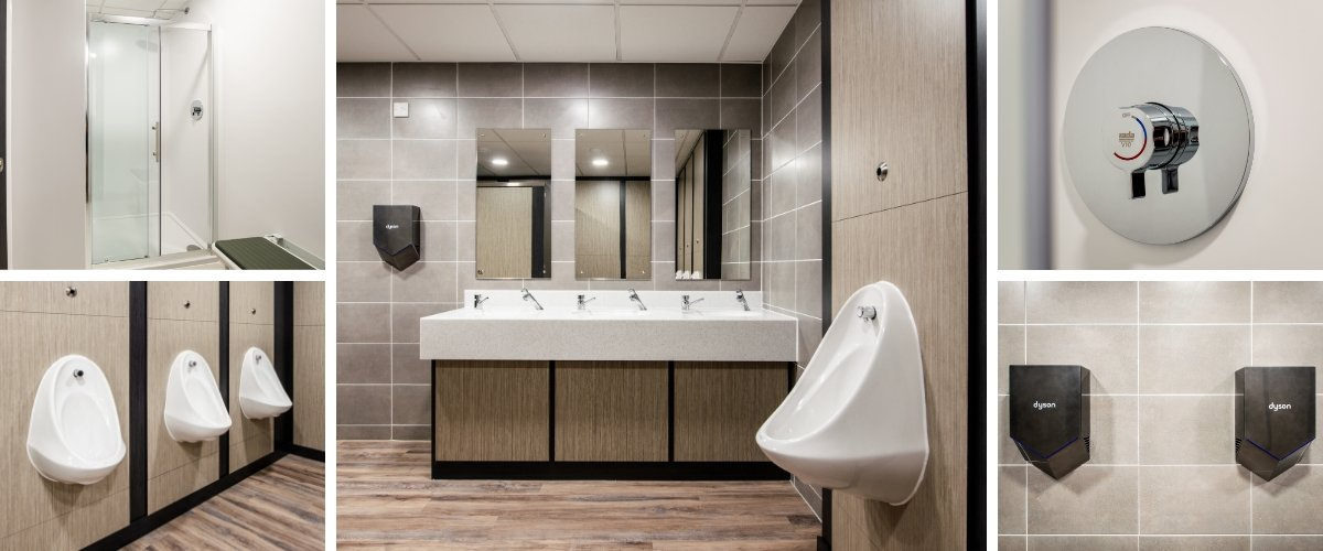 Novatech Washroom Refurbishment - Case Study