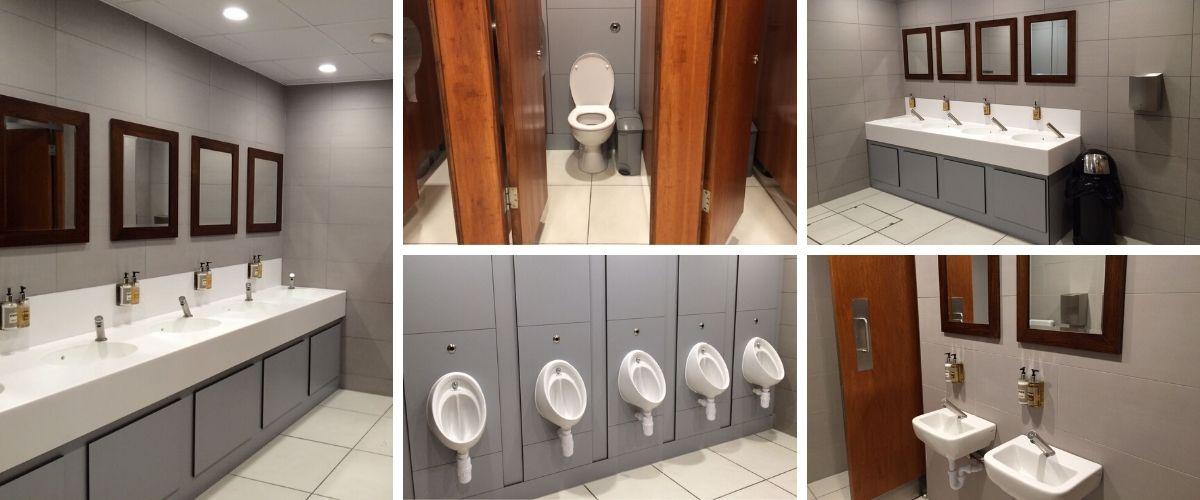 Newbury Corn Exchange Washroom Refurbishment - Case Study