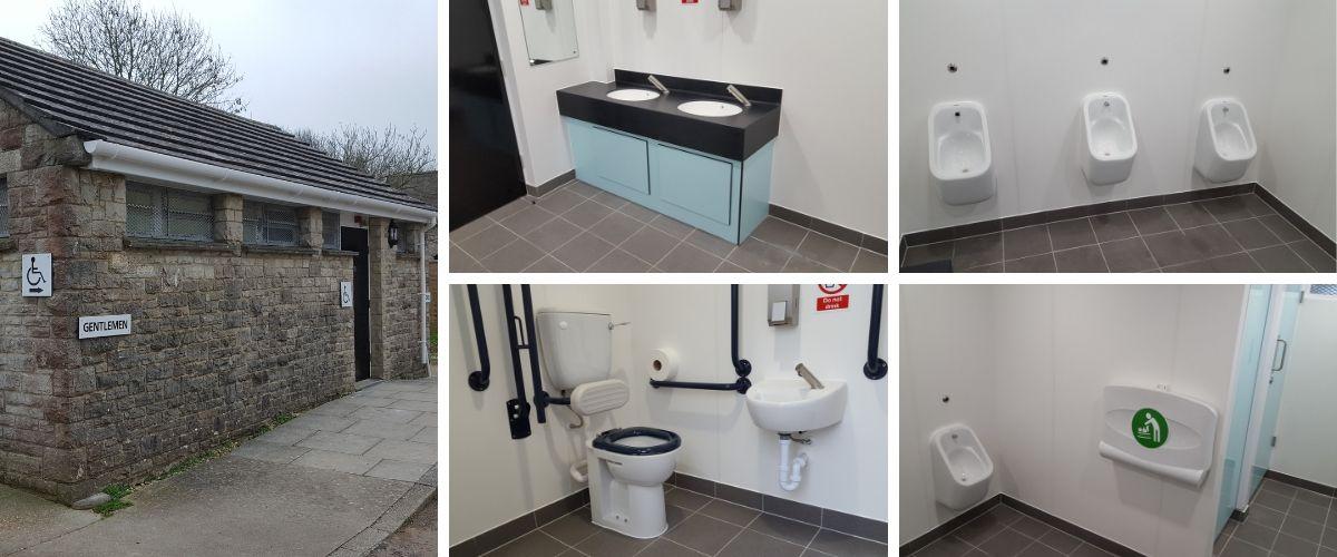 Corfe Castle Public Toilet Specification and Refurbishment - Case Study