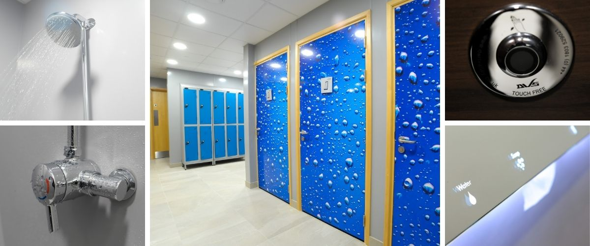 North London Office Toilet and Shower Room Refurbishment - Case Study