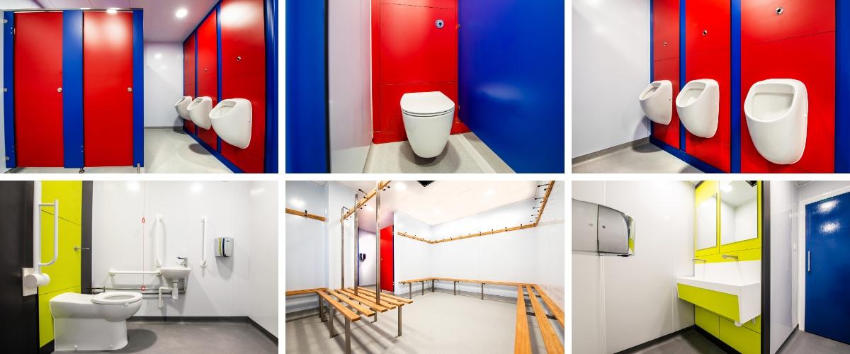 Hampton School Toilets & Changing Room Refurbishment - Case Study