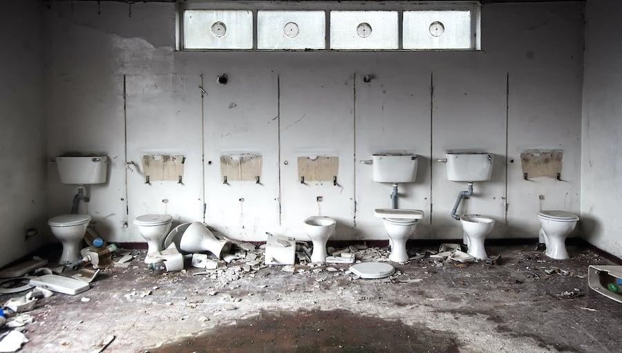 How can I reduce vandalism in my washroom?