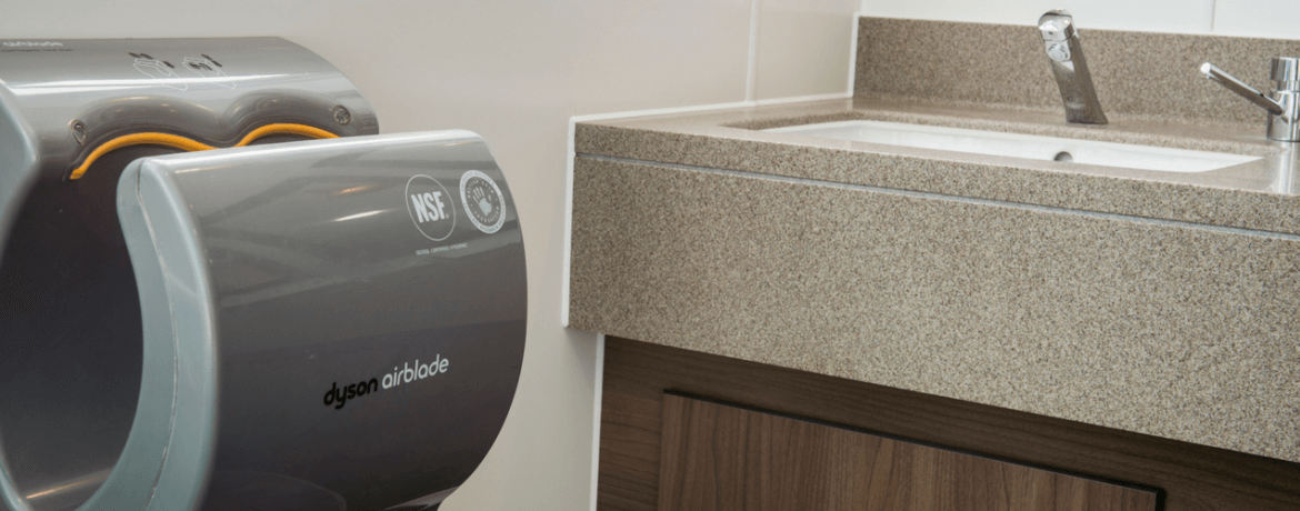 Spoilt For Choice: Hand Dryer Options