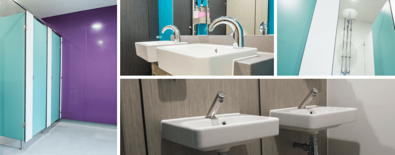 Refurbishing a School Visitor Washroom for LVS Ascot - Case Study