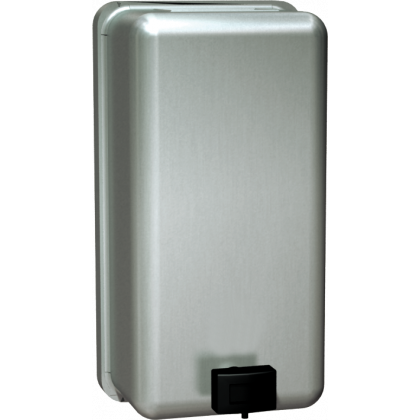 ASI 1.2 L Vertical Stainless Steel Liquid Soap Dispenser | Commercial Washrooms