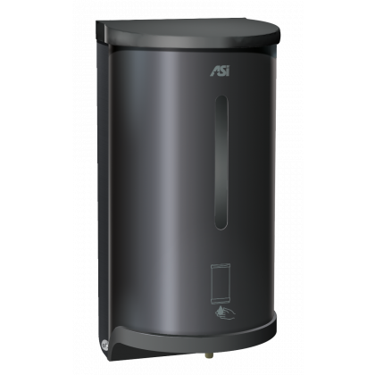 ASI Black Automatic Sensor Operated Soap and Hand Sanitiser Dispenser | Commercial Washrooms