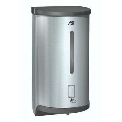 ASI Automatic Sensor Operated Stainless Steel Soap and Hand Sanitiser Dispenser | Commercial Washrooms