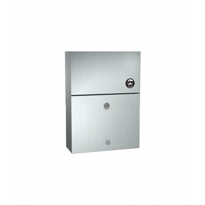 ASI Lockable Sanitary Napkin Disposal Unit | Commercial Washrooms