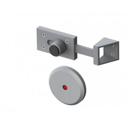 Chamfered Toilet Cubicle Indicator Bolt Lock