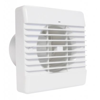 100mm Quiet Wall Mounted Extraction Fan With Timer