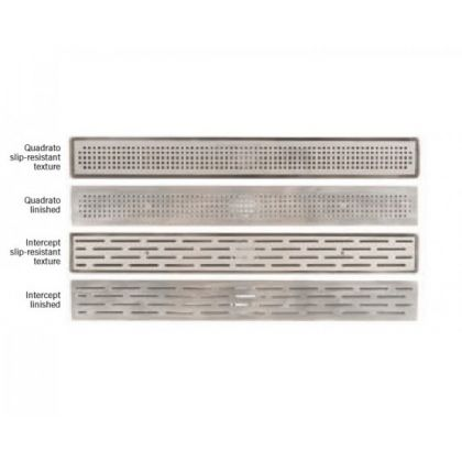 1000mm Intercept Linished Grating for Aco Shower Channel for Flexible Sheet Flooring
