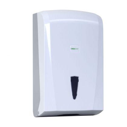 Medichief C-V Folded Paper Towel Dispenser – White 600 Capacity