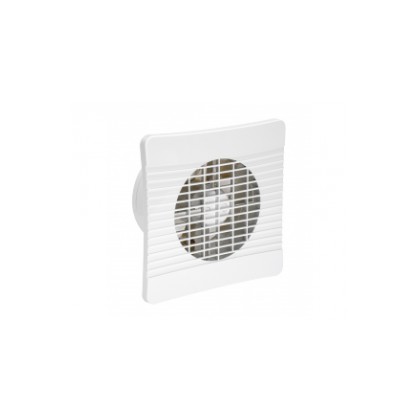 150mm Standard Slim Axial Fan with Timer and Shutters