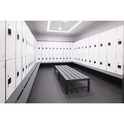 Freestanding Changing Room Bench Seat - Wet and Dry Environments | Commercial Washrooms