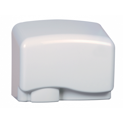 White Budget No Touch Hand Dryer