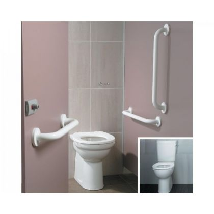 Ideal Standard Doc M Ambulant Back to Wall or Close Coupled Toilet Packs