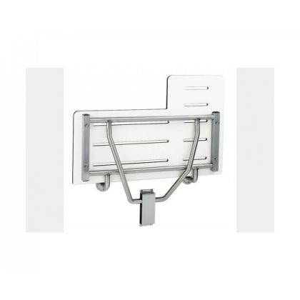 Bobrick Compact Grade Laminate Reversible Folding Shower Seat