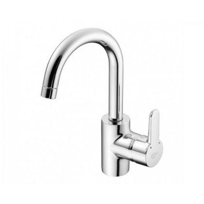 Ideal Standard Concept Basin Mixer Tap Swan Neck Tubular Spout
