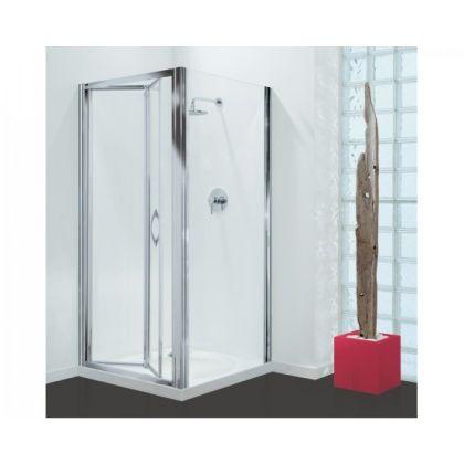 Coram Premier Bi-Fold Glass Shower Screen Door