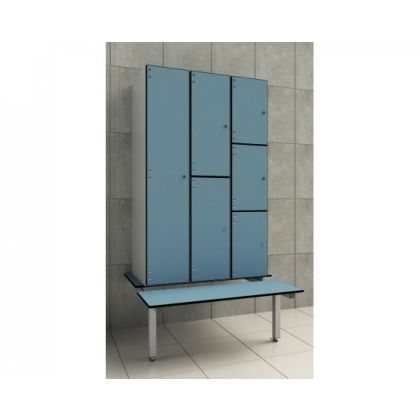 Locker Support Changing Room Bench Seat - Wet and Dry Environments