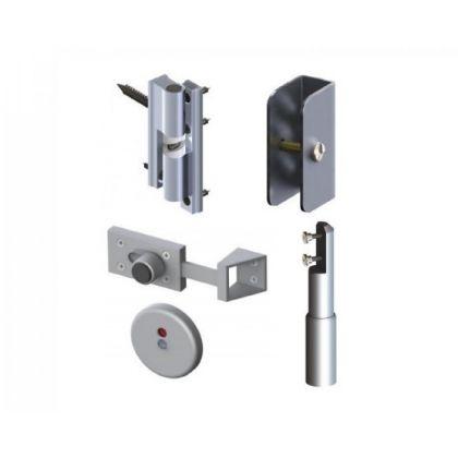 Aluminium Hardware Pack- Satin Anodised