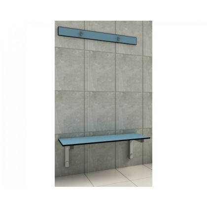 Wall Mounted Bench Seat with Cantilever Bracket- Wet and Dry Environments
