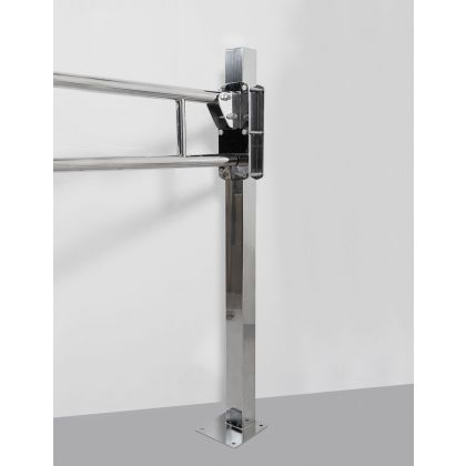 NymaPRO Stainless Steel Floor Mounting Adaptation Post - Floor mounting post and kit | Commercial Washrooms