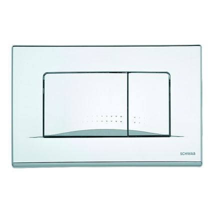 FluidMaster Schwab Dots Duo Toilet Flush Plate