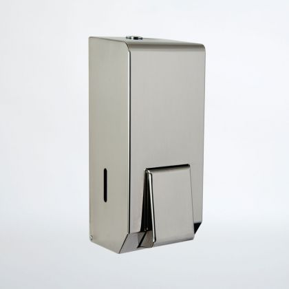 NymaSTYLE Stainless steel soap dispenser - Polished or Satin Finish