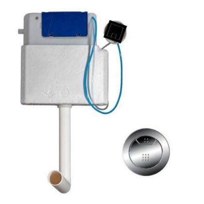 Fluidmaster Concealed Dual Flush Cistern with Pneumatic Button | Commercial Washrooms