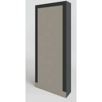 Full Height Blank IPS Duct Panel Set | Commercial Washrooms