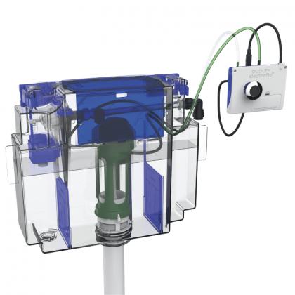 Dudley VANTAGE 6/4ltr Concealed Cistern with Electroflo Dual Flush Infrared Sensor | Commercial Washrooms