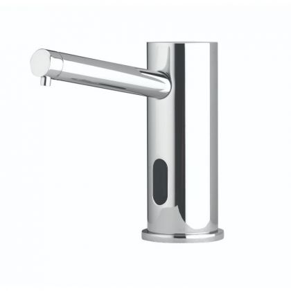 Dudley Electroflo Contemporary™ Polished Chrome Soap Dispenser | Commercial Washrooms