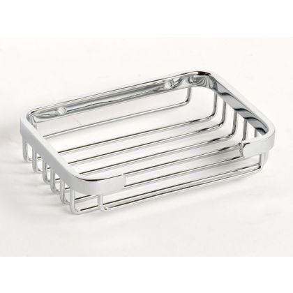 NymaSTYLE Polished Chrome Shower Basket | Commercial Washrooms